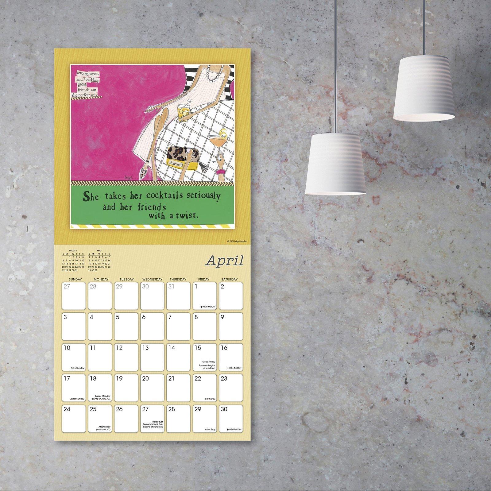 Curly Girl Calendar
